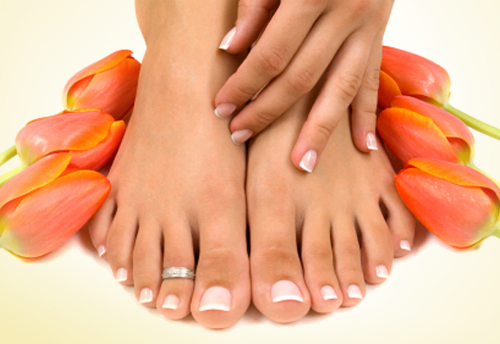 Give your feet a well-deserved pampering with our Pedicures services